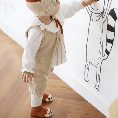 Chaussettes antidérapantes pour enfants idéales pour cet hiver à petit prix