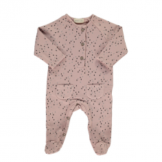 Pyjama rose pour bebes beans barcelona à petit prix