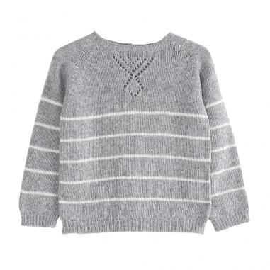 Pull en laine et cachemire pour bébés de la marque Emile et ida au meilleur prix