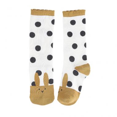 Chaussettes pour enfants avec imprimé lapin de la marque Emile et Ida