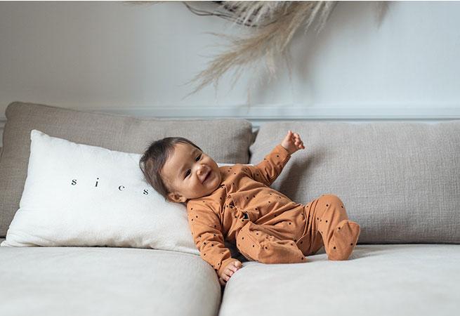 Pyjama en coton biologique pour bébés Bonjour Little