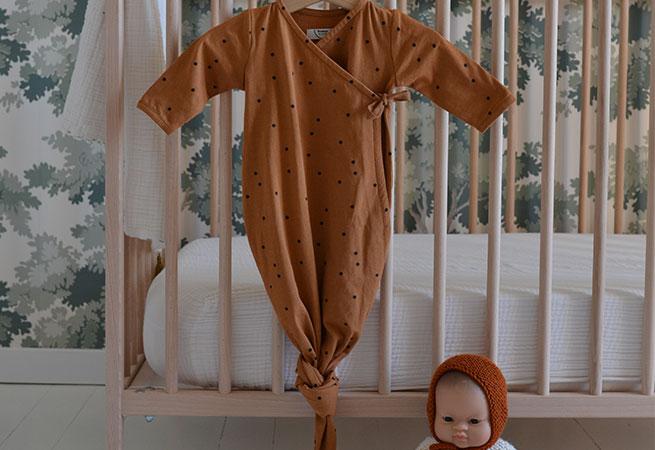 Gigoteuse nouée pour bébés Bonjour Little