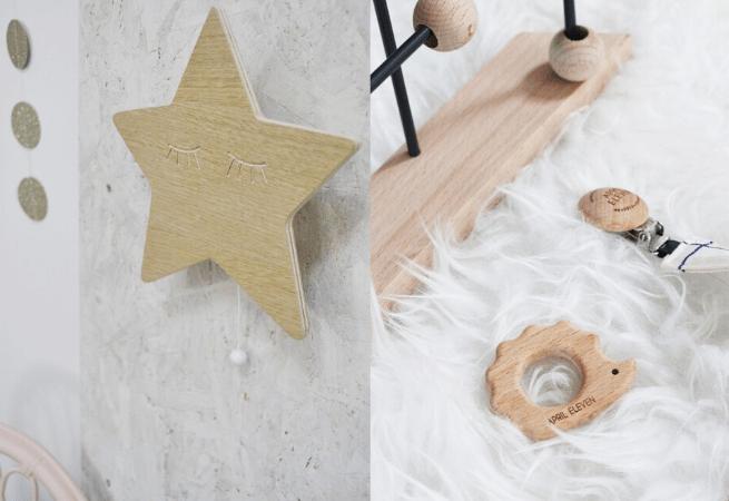 Jouets et décorations bois