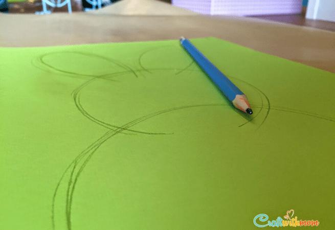 Lapin en carton pâques