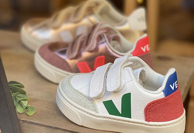 Sneakers ecolos pour enfants Veja a toulouse