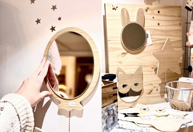 Objets décoration bois
