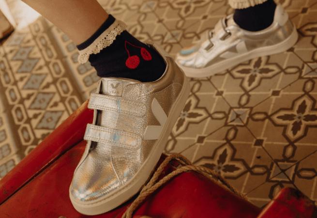 Sneakers scratchs Veja